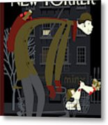 New Yorker January 18th, 2010 Metal Print
