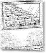 New Yorker May 12th, 2008 Metal Print