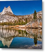 Upper Cathedral Lake Metal Print