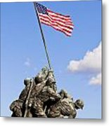 Us Marine Corps Memorial Metal Print