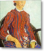 Van Gogh's La Mousme Metal Print