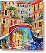 Venice Magic Metal Print