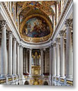 Versailles Chapel Metal Print