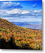 View Along The Highland Scenic Highway Metal Print