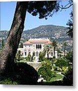 Villa Ephrussi De Rothschild Metal Print