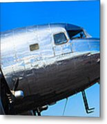 Vintage Airplane Metal Print