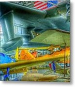 Vintage Airplanes Metal Print
