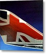 Virgin Atlantic Winglet Metal Print