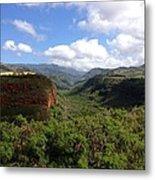 Waimea Canyon Kauai Metal Print