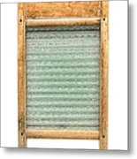 Washboard Metal Print by Olivier Le Queinec