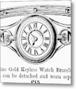Watch Bracelet, 1891 Metal Print