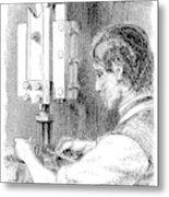 Watchmaker, 1869 Metal Print
