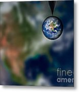 Water And Earth Metal Print