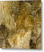 Longhorn Caverns Water Creation Metal Print