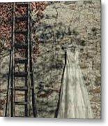 Wedding Dress Metal Print