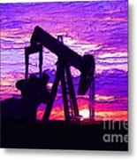 West Texas Intermediate Metal Print by GCannon