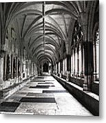 Westminister Abbey Cloister Metal Print