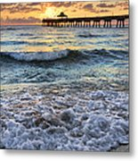 Whipped Cream Metal Print