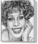 Whitney Houston In 1992 Metal Print