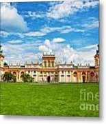 Wilanow Palace In Warsaw Poland Metal Print
