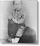 Wilbur Wright (1867-1912) Metal Print