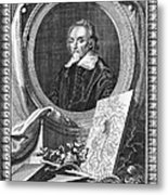 William Harvey (1578-1657) Metal Print