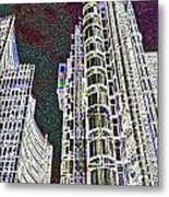 Willis Group And Lloyd's Of London  Metal Print