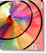 Wind Wheel Metal Print