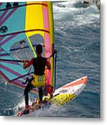 Windsurfing International Competition Metal Print