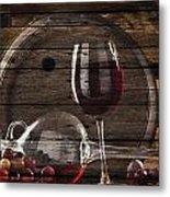 Wine Metal Print
