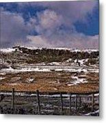Winter In The Dales Metal Print