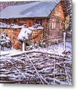 winter Russia Metal Print