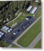 Wiscasset Airport, Wiscasset Metal Print