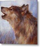 Wolf Whistle Metal Print