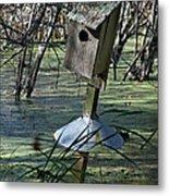 Wood Duck House IIi Metal Print