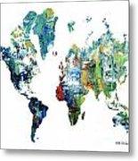 World Atlas  Metal Print
