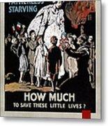 World War I: Red Cross Metal Print