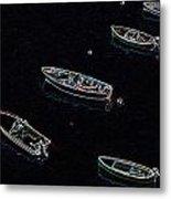 Yachts At Rest Sorrento Metal Print