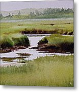 Yarmouthport Marsh Metal Print