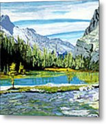 Yoho Valley Metal Print by David Skrypnyk