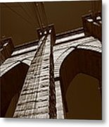Brooklyn Bridge - New York City Metal Print
