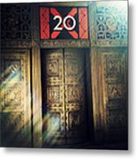 20 Exchange Place Art Deco Metal Print