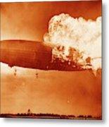Hindenburg Disaster Metal Print