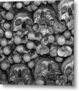 Human Bones. Metal Print
