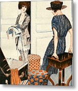 La Vie Parisienne 1919 1910s France Metal Print