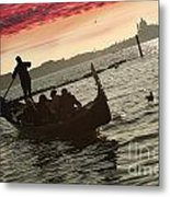 Venice In Italy Metal Print