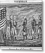 Yorktown: Surrender, 1781 Metal Print