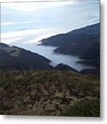 2000 Meters On The Mounten Metal Print
