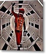 2001 A Space Odyssey Metal Print