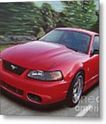 2001 Ford Mustang Cobra Metal Print